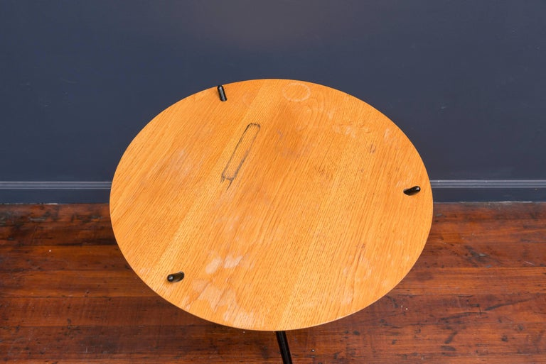 Hans Bellman Tripod Table In Fair Condition For Sale In San Francisco, CA