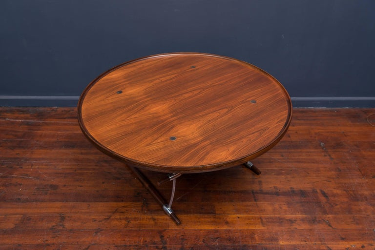 Danish Jens Quistgaard Stokke Rosewood Coffee Table for Nissen For Sale