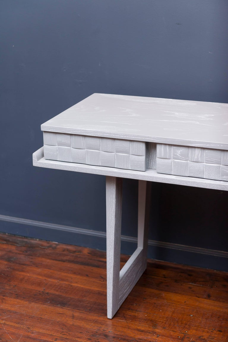 Mid-Century Modern Paul Laszlo Console or Writing Desk For Sale