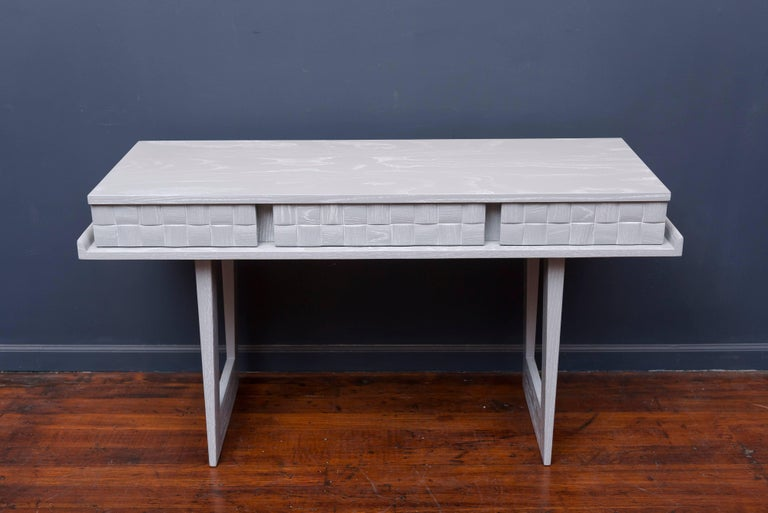 American Paul Laszlo Console or Writing Desk For Sale
