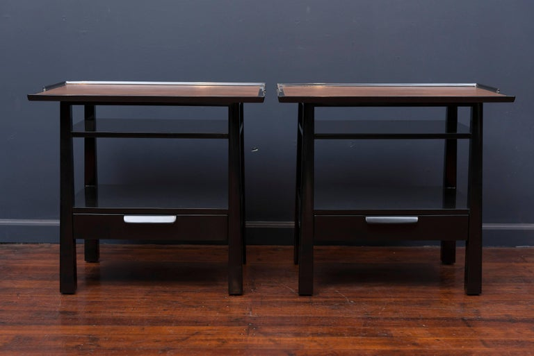 American Edward Wormley for Dunbar Side Tables For Sale