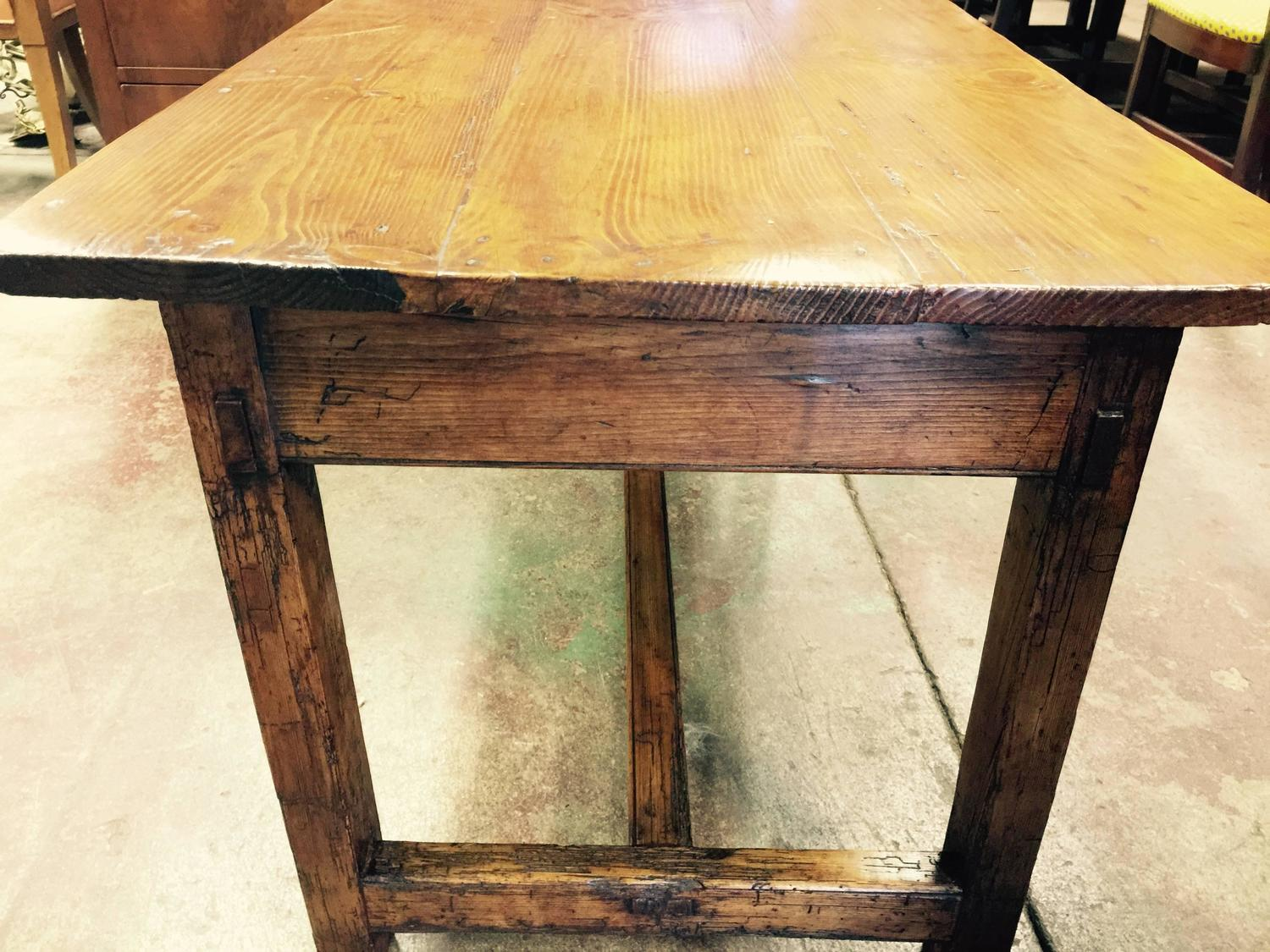 Early 19th Century Pine Farm Coffee Table For Sale At 1stdibs
