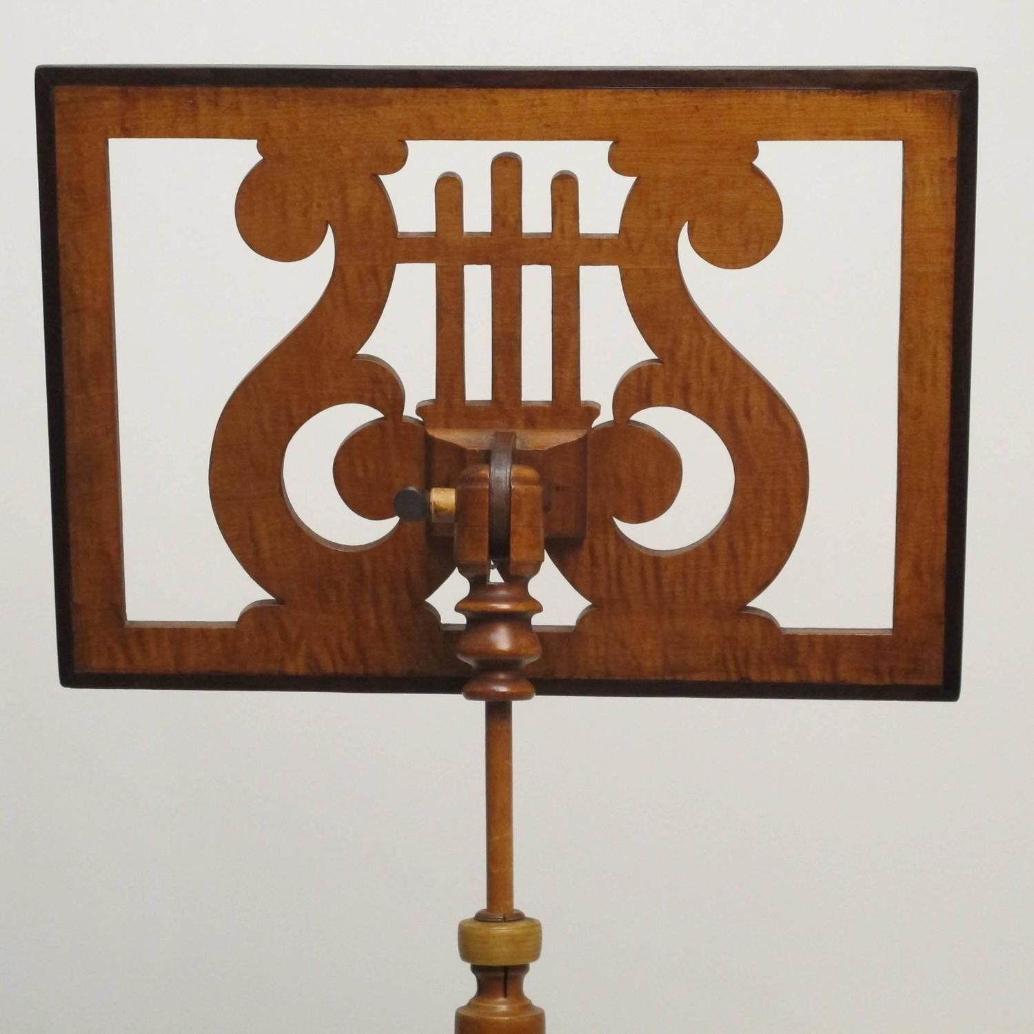 19th century american music stand for sale at 1stdibs. Black Bedroom Furniture Sets. Home Design Ideas