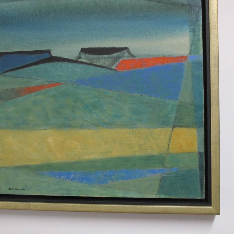 Mid 20th Century Abstract Painting By Jason Schooner At