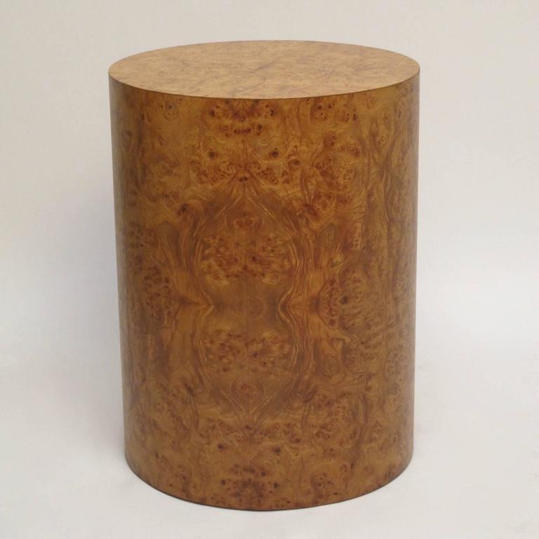 Italian burled elmwood pedestal table base at 1stdibs - Ceramic pedestal table base ...