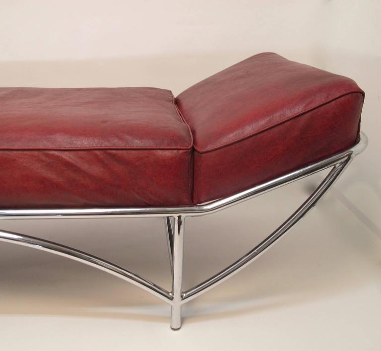 Kem Weber Art Deco Chaise Daybed At 1stdibs