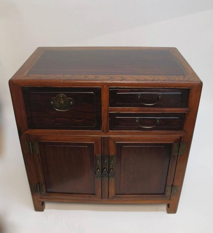 19th Century Chinese Cabinet Chest In Excellent Condition For Sale In San Francisco, CA