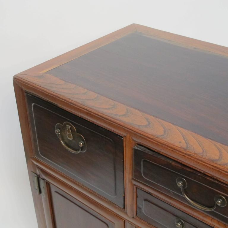 Brass 19th Century Chinese Cabinet Chest For Sale