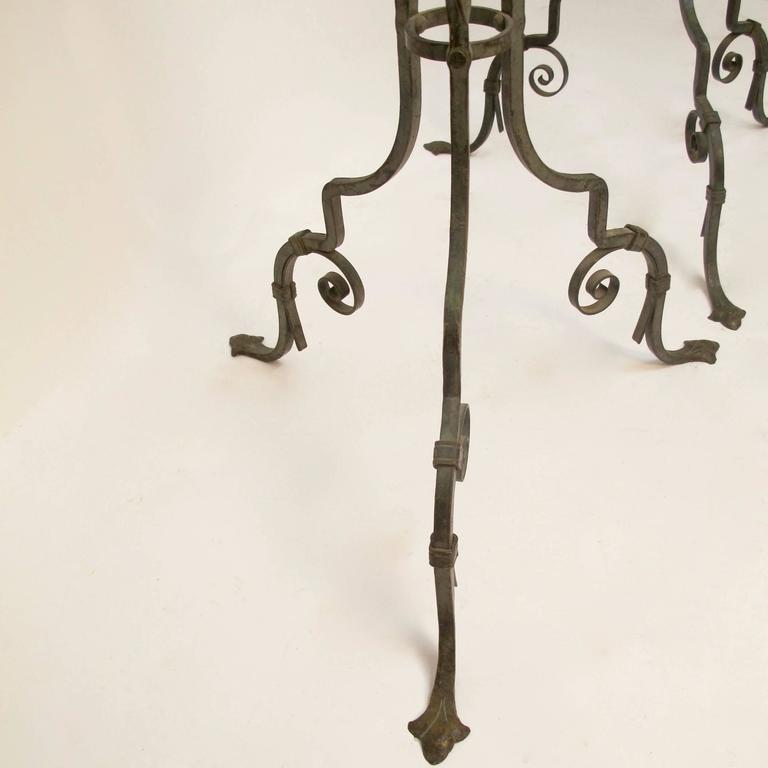 Wrought Iron Iron Fern Plant Stands For Sale