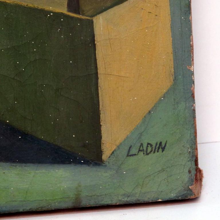 Still Life Painting by David Ladin, American Mid 20th Century For Sale 1