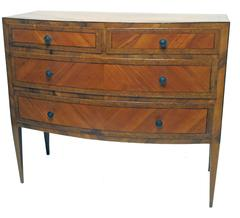19th Century Italian Walnut Chest of Drawers
