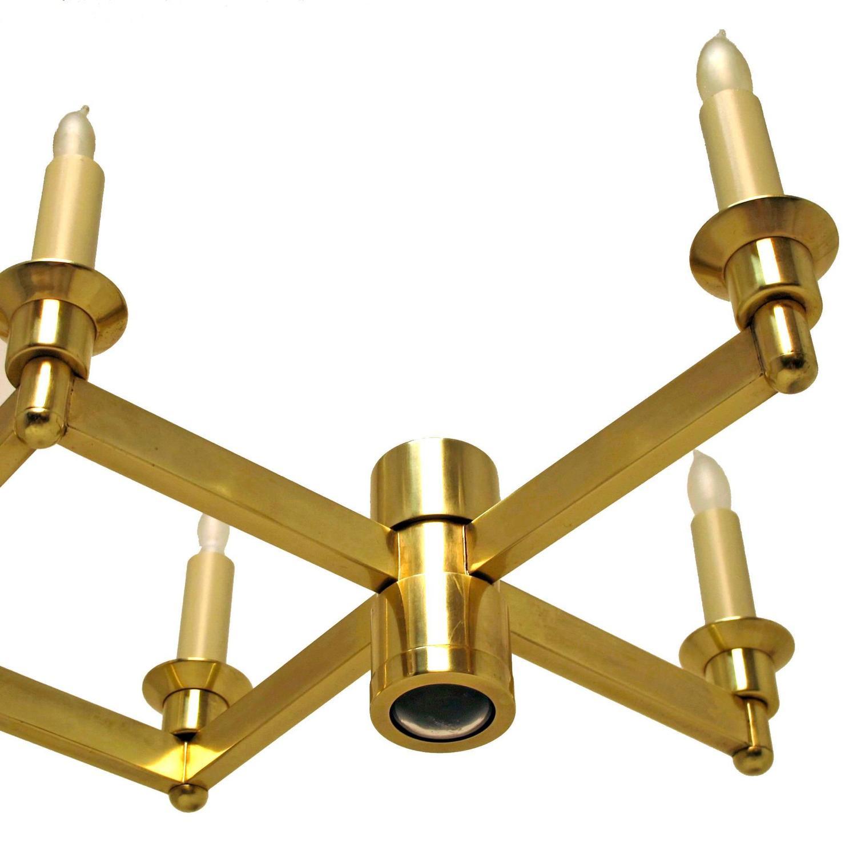 Modern Brass Light Fixture For Sale At 1stdibs