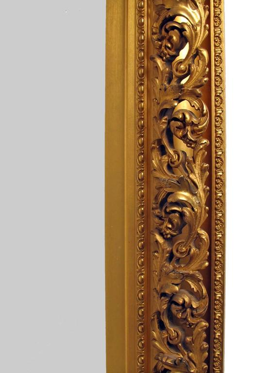 19th Century Gilt Mirror In Excellent Condition For Sale In San Francisco, CA