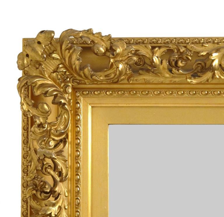 19th Century Gilt Mirror For Sale 1