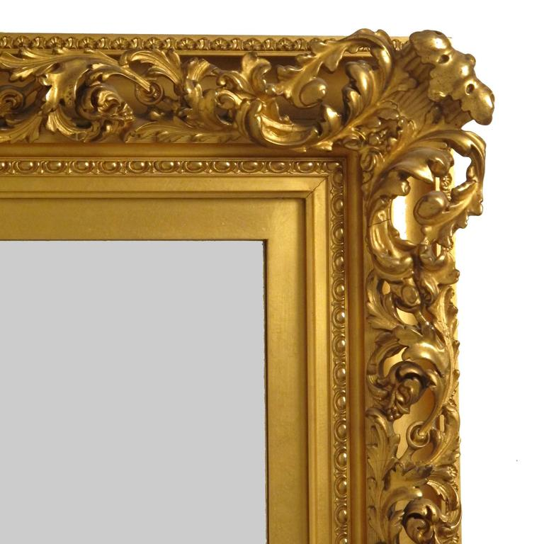 19th Century Gilt Mirror For Sale 3