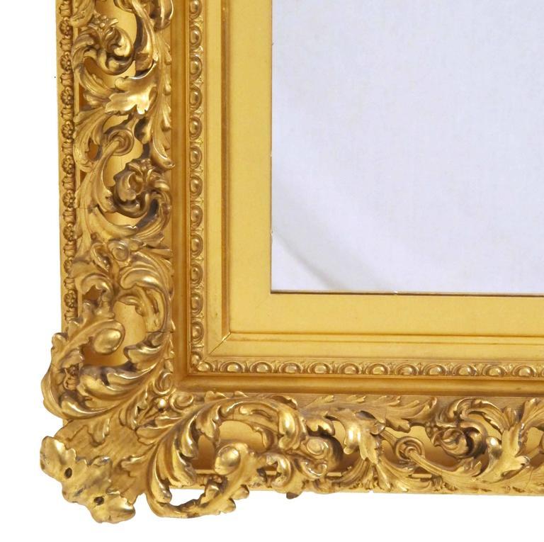 19th Century Gilt Mirror For Sale 2