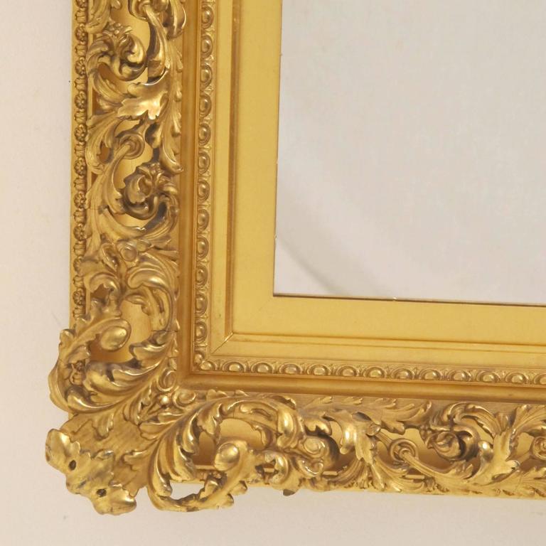 19th Century Gilt Mirror For Sale 4