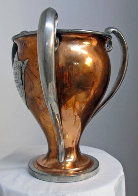 Antique San Francisco Yacht Club Trophy Loving Cup, 1908 6