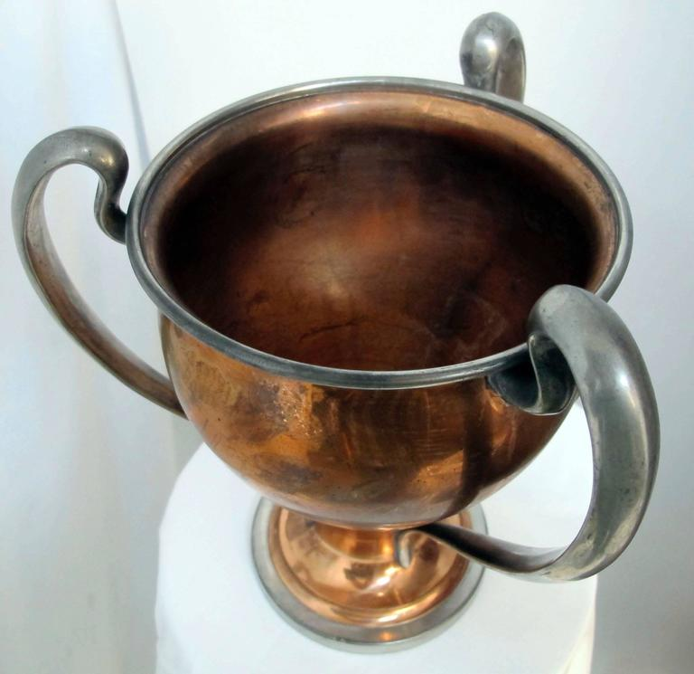 Antique San Francisco Yacht Club Trophy Loving Cup, 1908 8