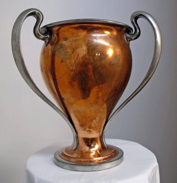 Antique San Francisco Yacht Club Trophy Loving Cup, 1908 9