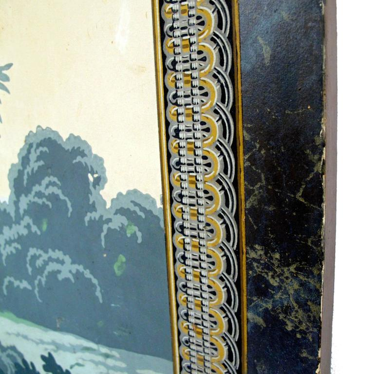 19th Century English Papier Peints Wallpaper Panels Screen 9