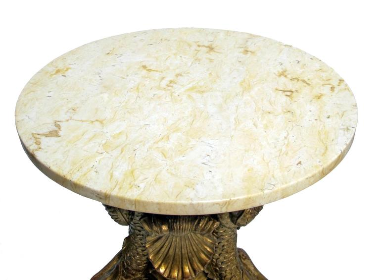 19th Century Italian Giltwood Side Tables 6