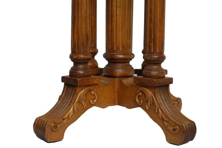 Neoclassical Style Piano Stool American 19th Century For