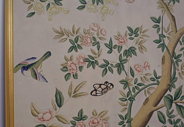 Chinese Wall Paper Panels For Sale 2