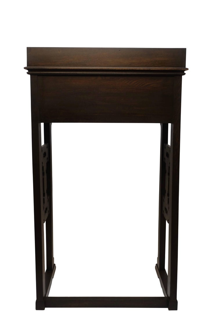 Carved Oak Podium or Lectern, American, 19th Century For Sale 5