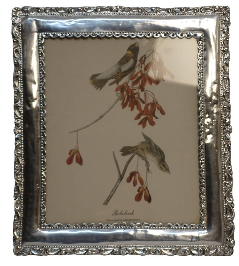 Peruvian Sterling Silver Frame In Excellent Condition For Sale In San Francisco, CA