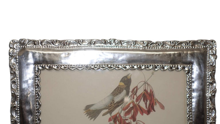Peruvian Sterling Silver Frame For Sale 1