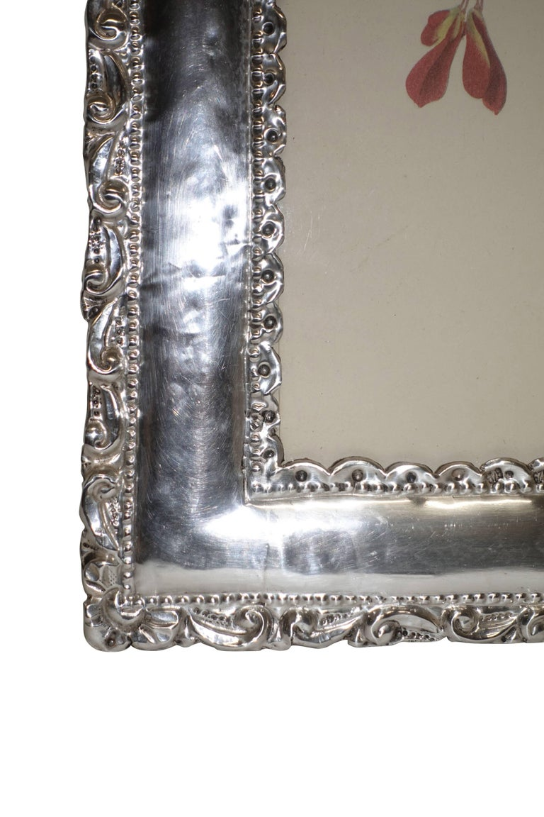 20th Century Peruvian Sterling Silver Frame For Sale