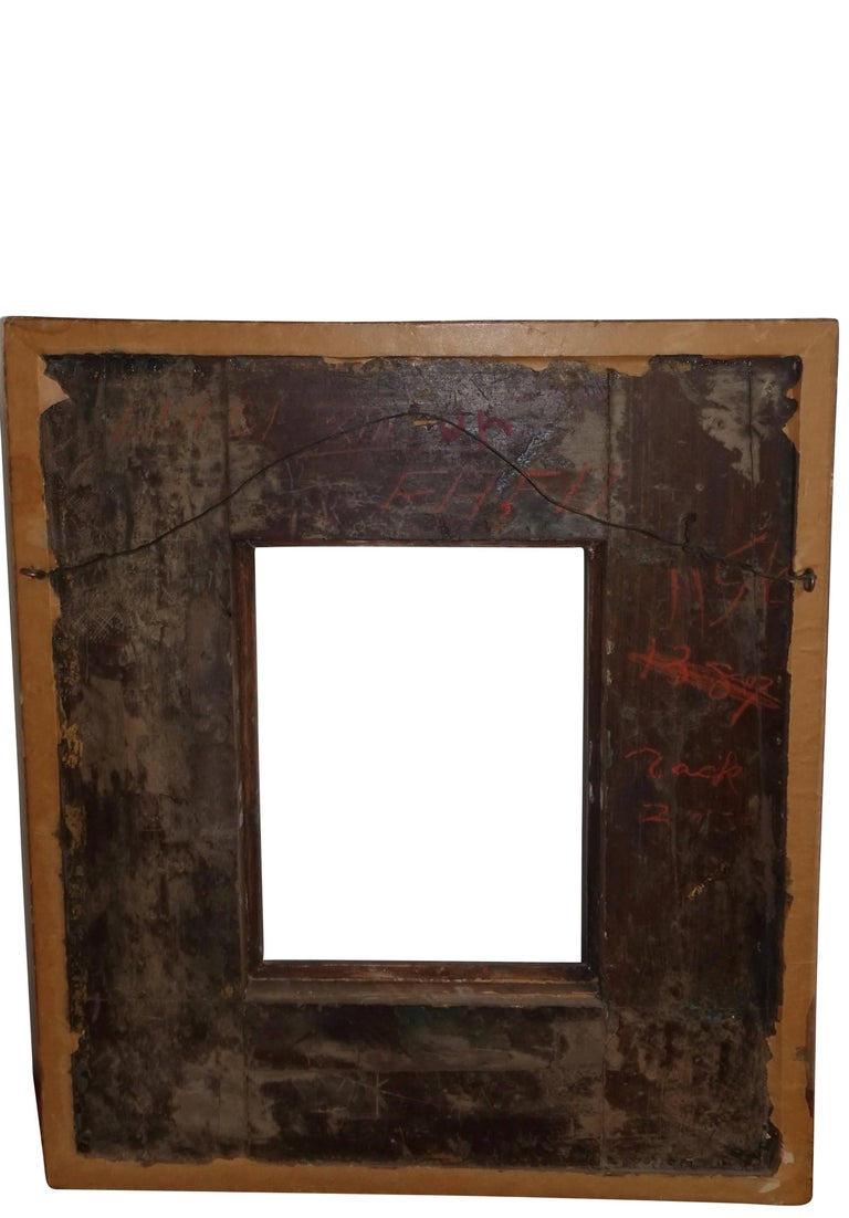 18th Century Spanish Colonial Carved and Gilt Frame For Sale 1