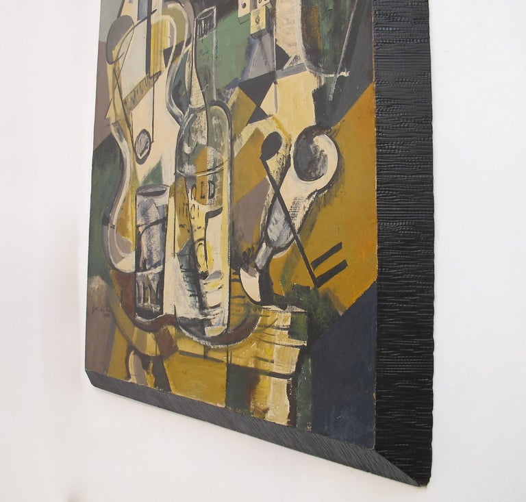 Midcentury Jazz Abstract Painting 5