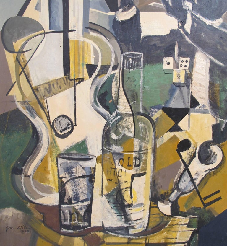 Midcentury Jazz Abstract Painting 3