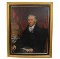 Gentleman Portrait Painting, English, 18th Century