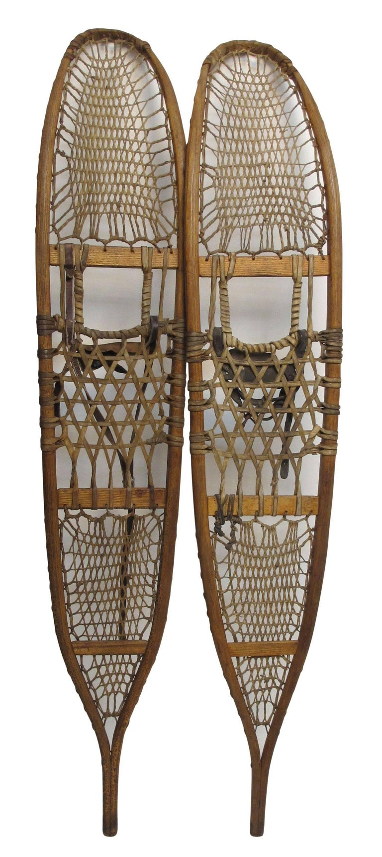 Pair of Antique Snowshoes, American, circa 1930 For Sale 3