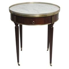 Louis XV Style Mahogany Bouillotte Table