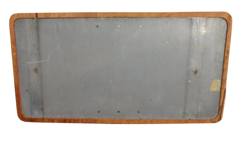 Mid-Century Modern Vintage Holland Lincoln Tunnels Highway Enamel Sign, circa 1950s For Sale
