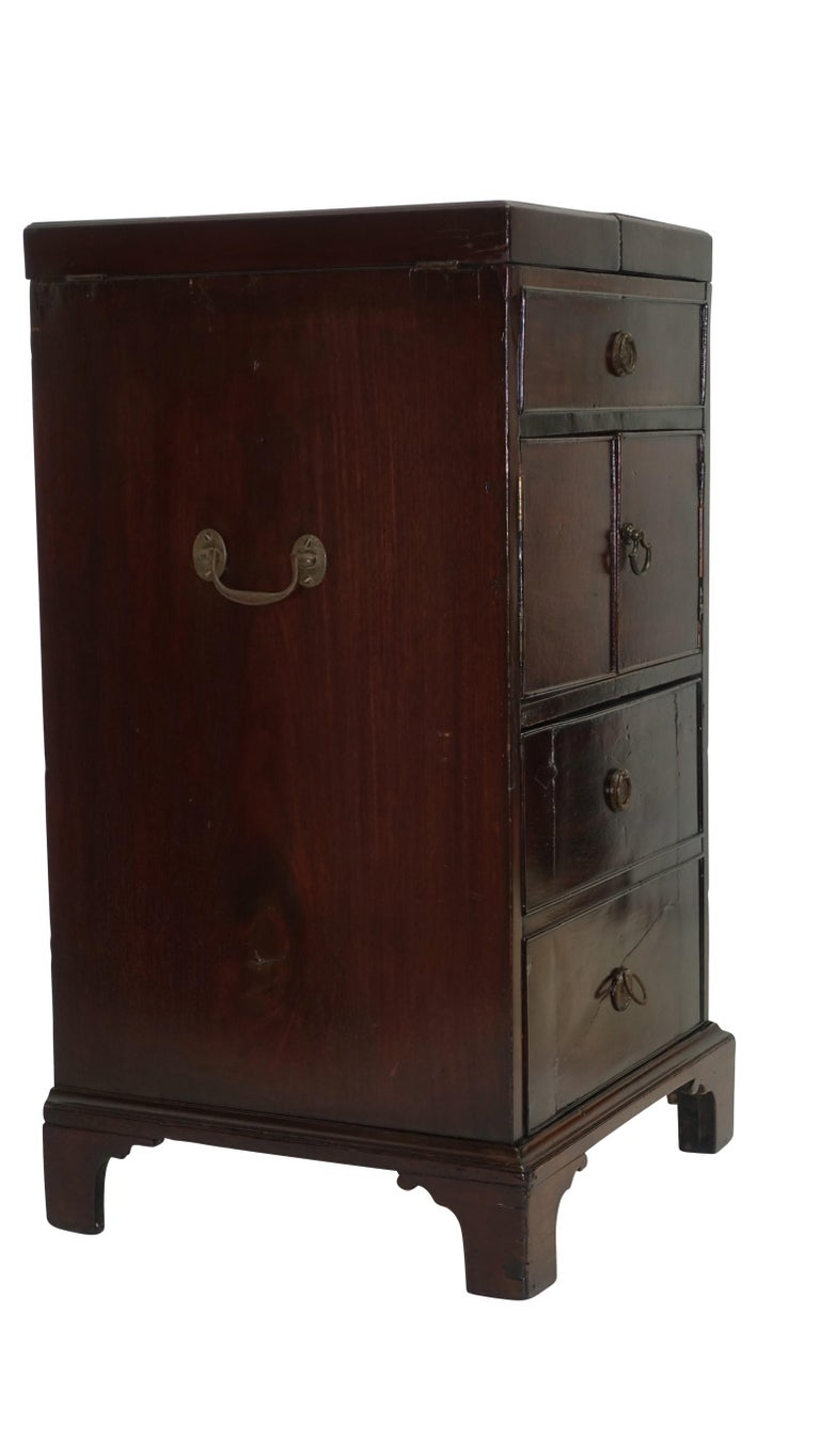 Georgian Mahogany Gentleman's Washstand, English, circa 1800 For Sale 6