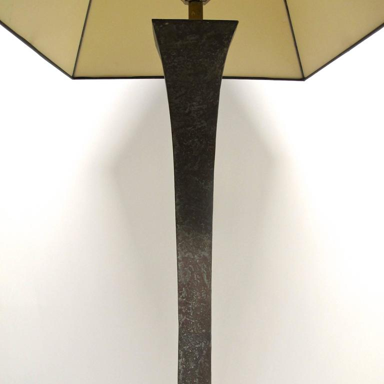 20th Century Bronze Mid Century Floor Lamp For Sale