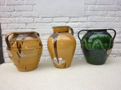 Italian Olive Jars from Puglia