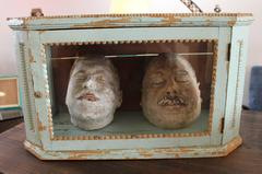 Cast Gypsum Death Masks