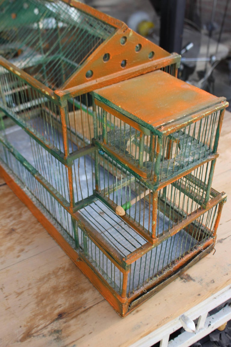 Antique Bird Cage 2