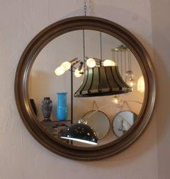 Sergio Mazza Pair of Brass Mirrors
