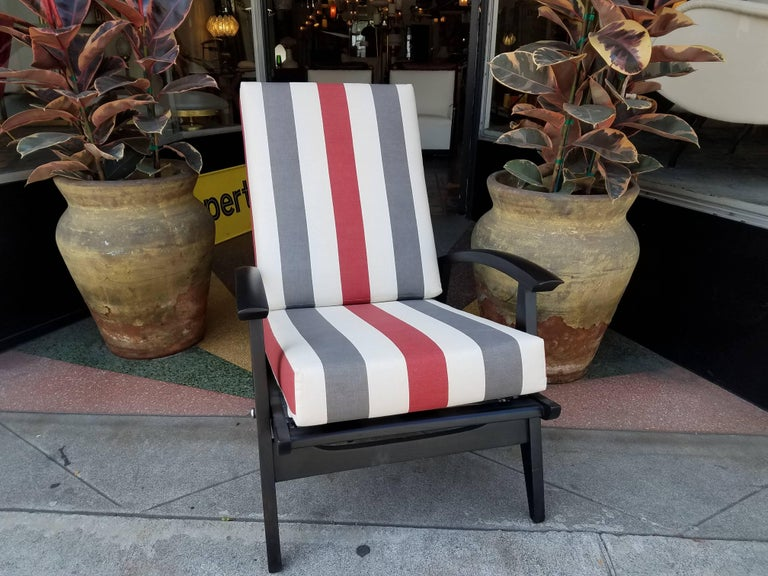 Italian Lounge Chairs for the Sorrento Hotel in Capri In Excellent Condition For Sale In Los Angeles, CA
