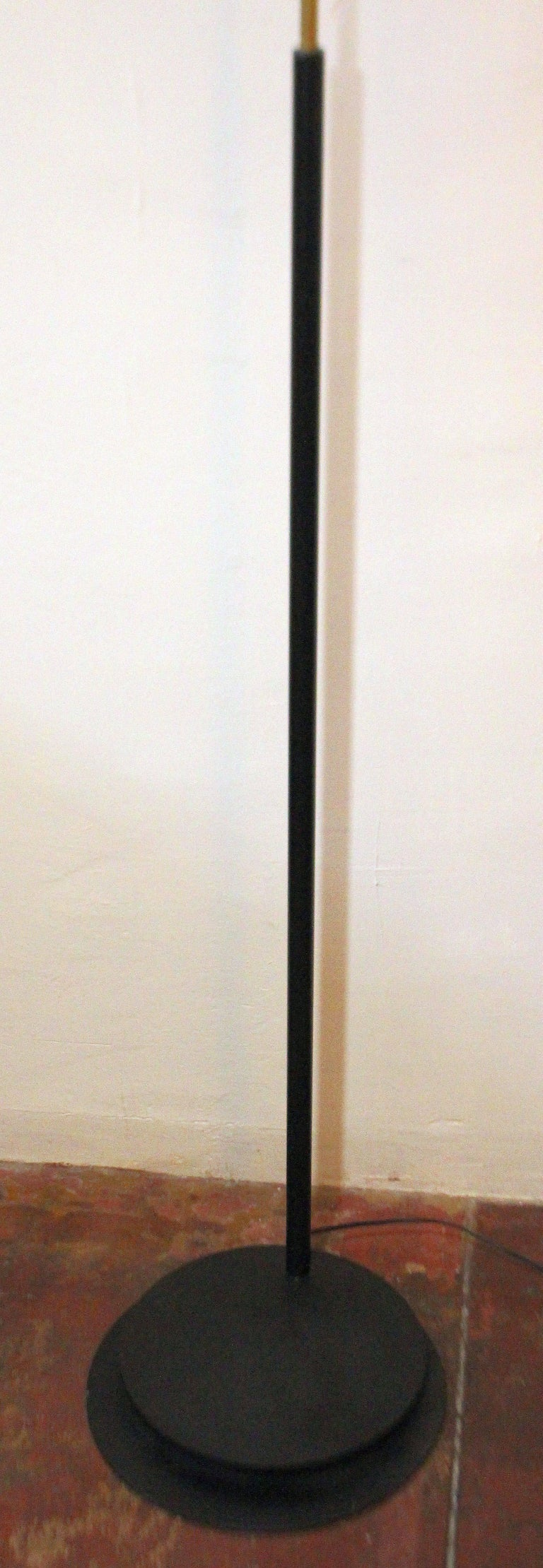 Italian Arc Floor Lamp In Good Condition For Sale In Los Angeles, CA