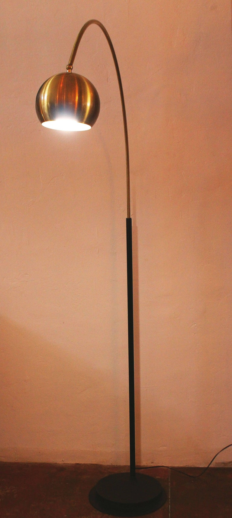 20th Century Italian Arc Floor Lamp For Sale