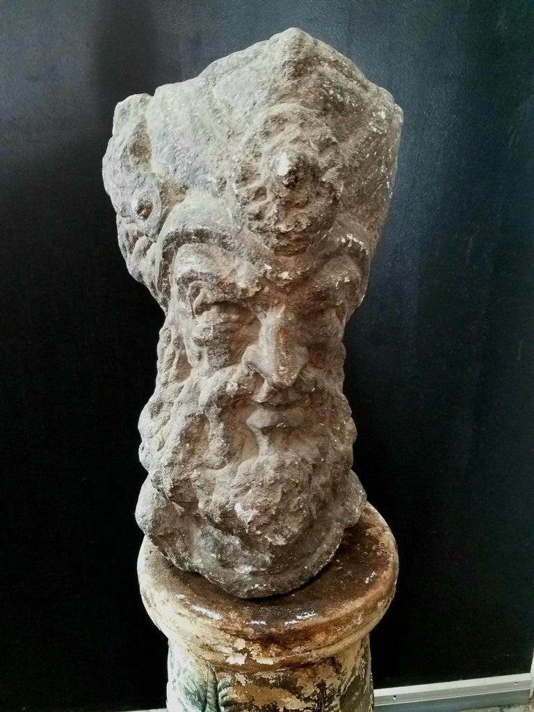Italian Sculpture from the See Side of Italy In Distressed Condition For Sale In Los Angeles, CA