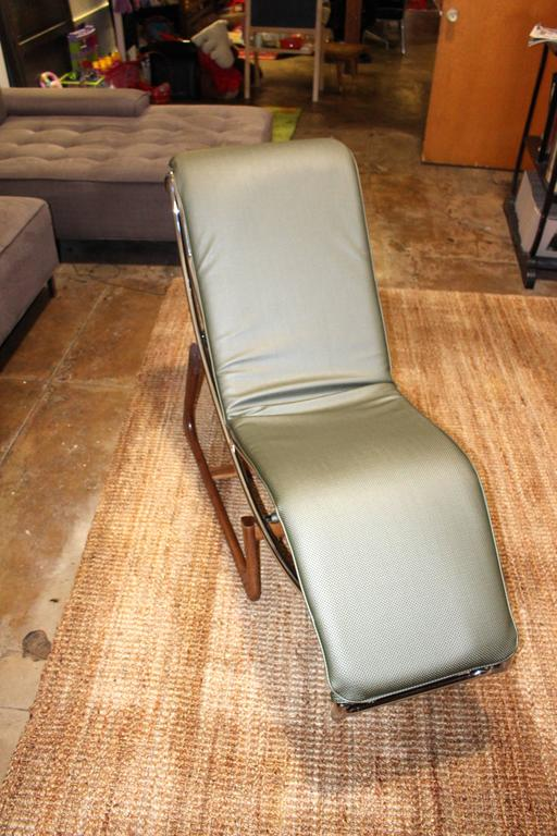 Italian Chaise Longue by Gimo Fero In Excellent Condition For Sale In Los Angeles, CA